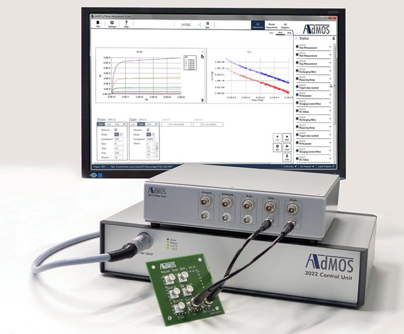 Система измерения фликкер-шума 3001B