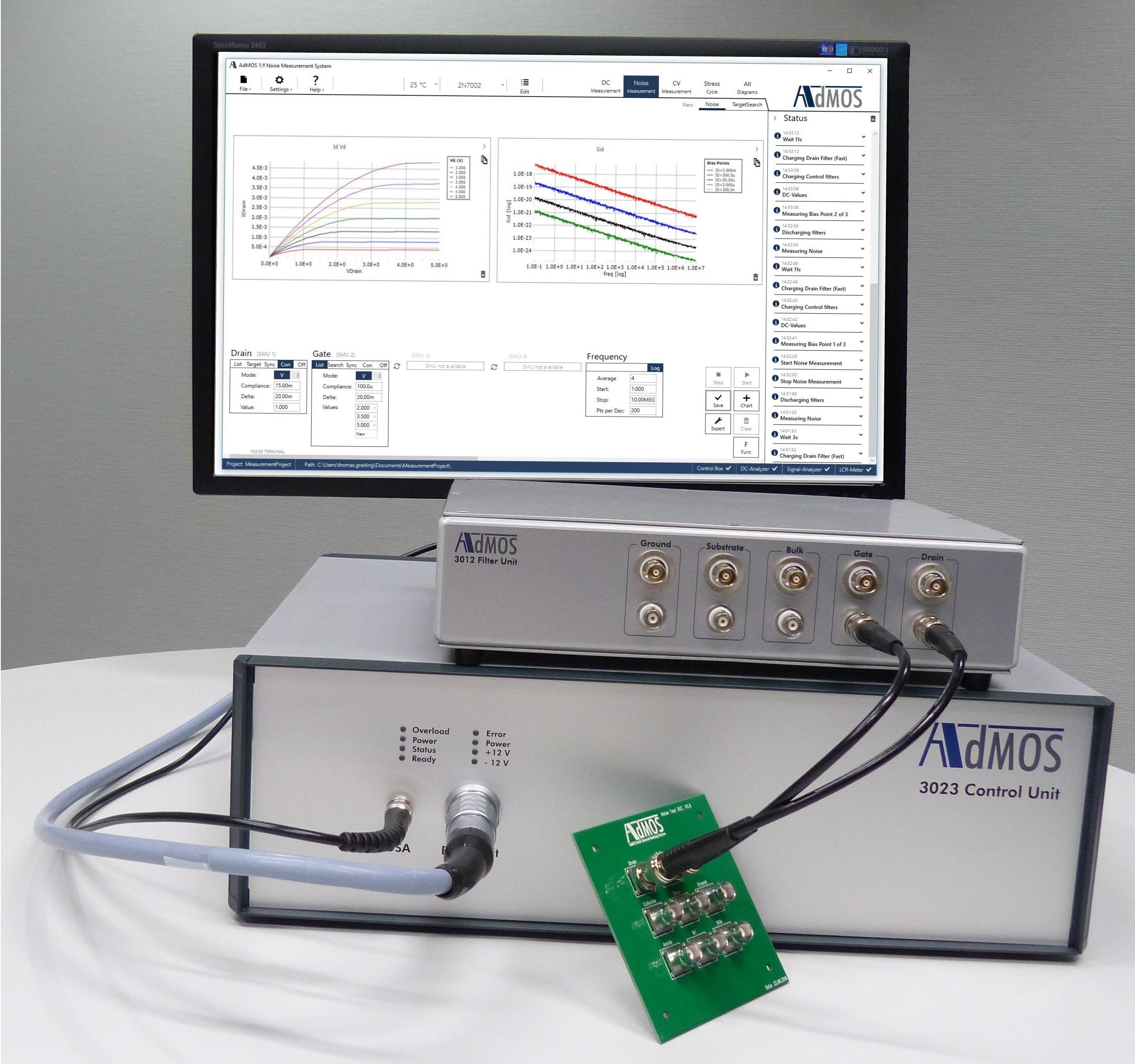 Система измерения фликкер шума 3002A