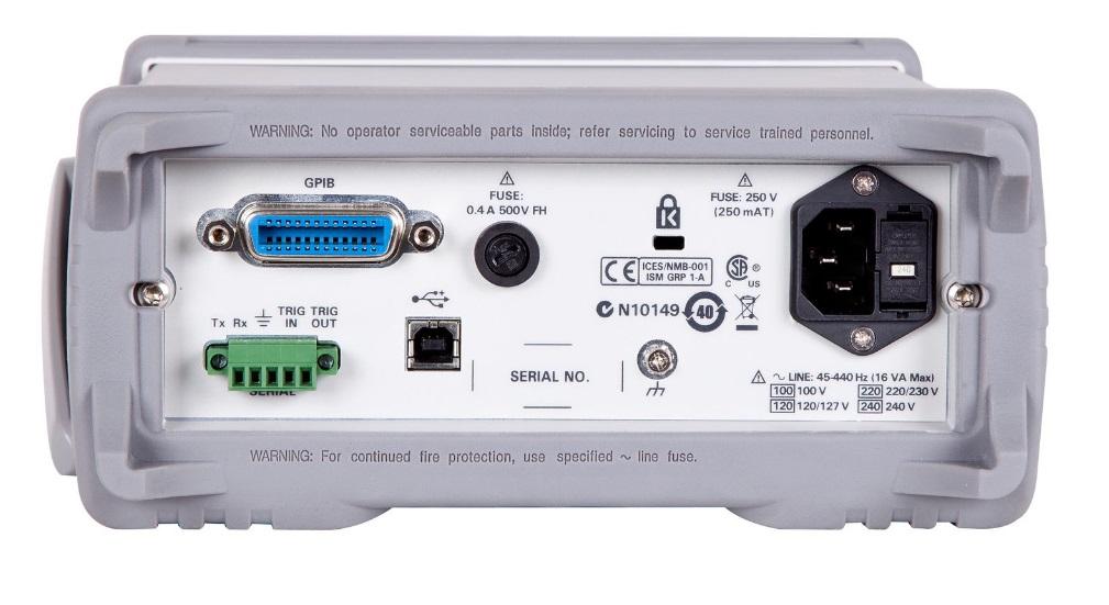 Keysight Technologies 34450A Цифровой 5,5-разрядный мультиметр с двухстрочным OLED-дисплеем