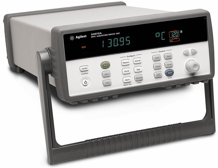 Keysight Technologies 34970А - модульная система сбора данныхкоммутации