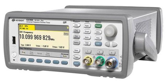 Keysight Technologies 53220A  53230A универсальные частотомерытаймеры, 350 МГц