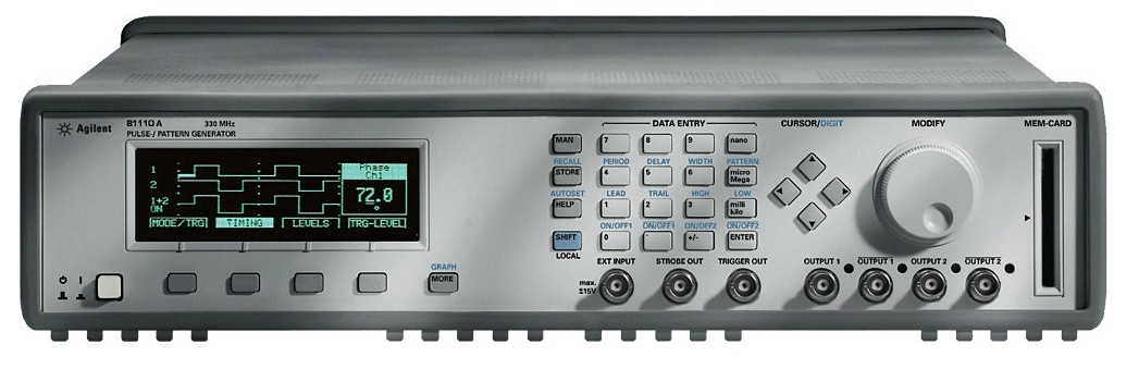 Keysight Technologies 81110A Генератор импульсов и кодовых последовательностей, 165330 МГц