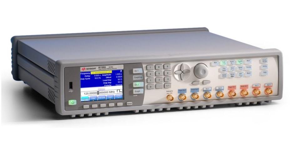 Keysight Technologies  81150A и 81160A Генераторы импульсов, сигналов стандартнойпроизвольной формы и шума