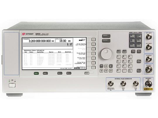 Keysight Technologies E8663D аналоговый генератор сигналов, от 100 кГц до 3,2  ГГц или 9 ГГц
