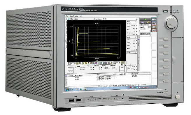Keysight Technologies B1505A анализатор мощных устройств, характериограф