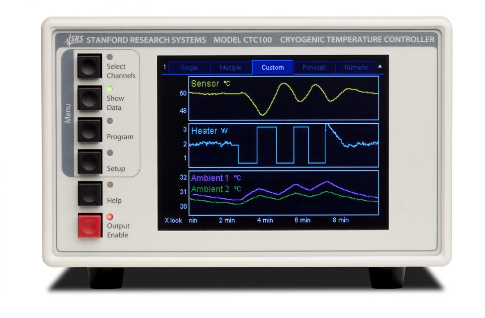 Stanford Research Systems CTC100 Контроллер криогенных температур