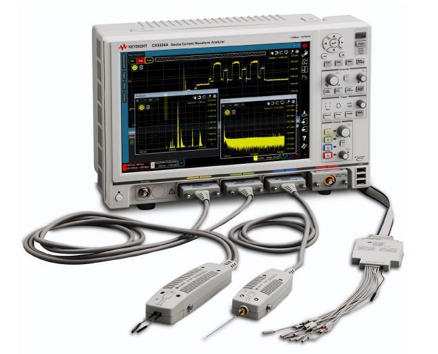 Анализатор формы сигналов тока устройств