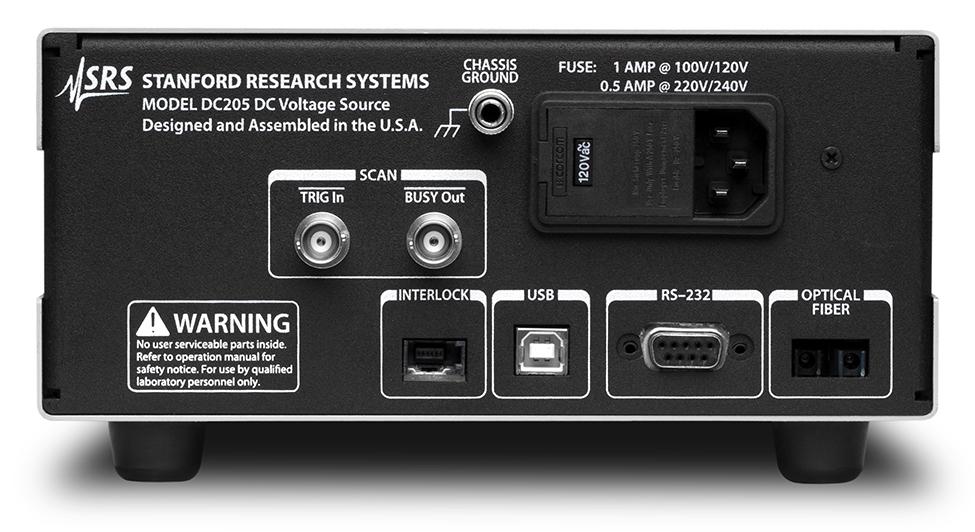 DC205 Прецизионный источник напряжения Stanford Research Systems