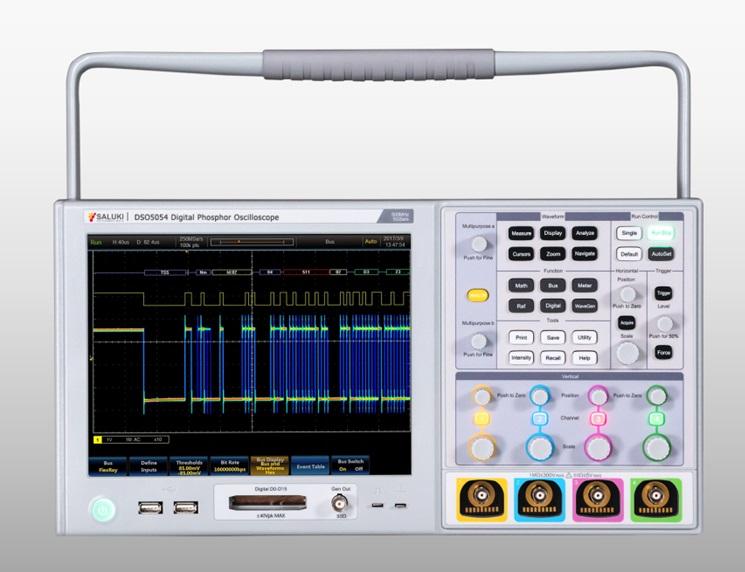 Серия цифровых фосфоресцирующих осциллографов DSO5000 (4 канала, 500 МГц1 ГГц)