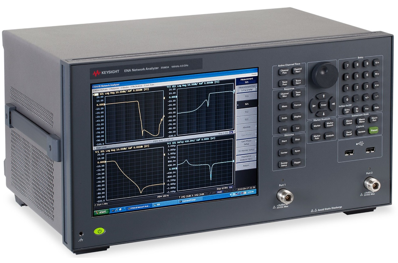Keysight Technologies E5063A Анализатор цепей серии ENA