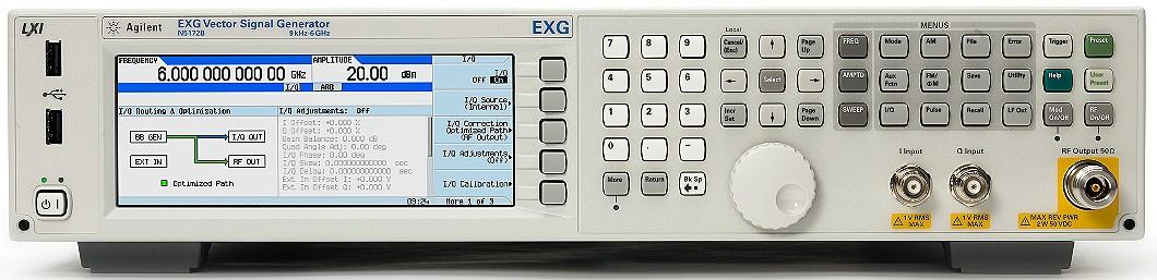 Keysight Technologies EXG N5172B Векторный генератор ВЧ сигналов