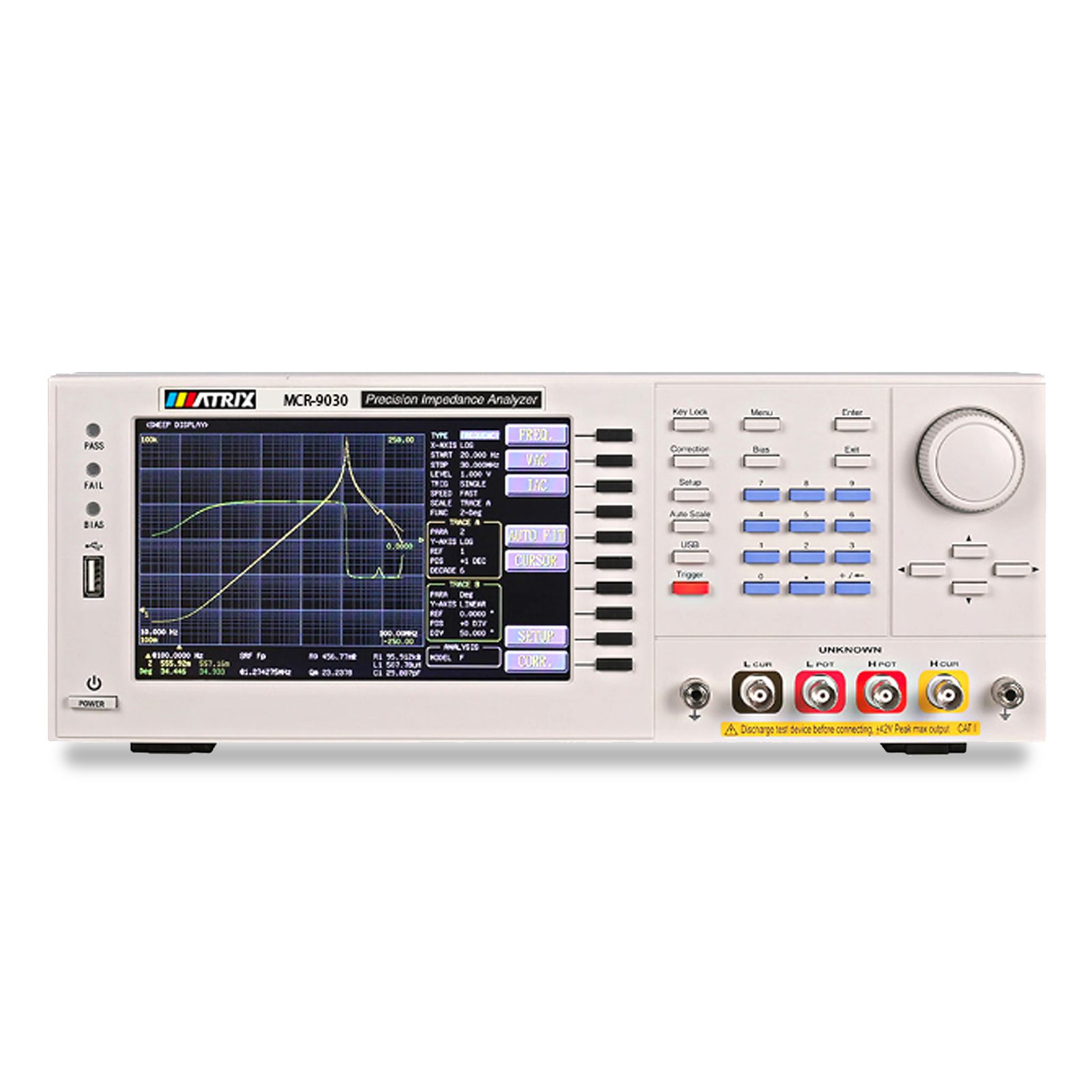 Высокочастотный измеритель LCR MCR-9000