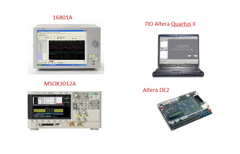 digital electronics with altera quartus