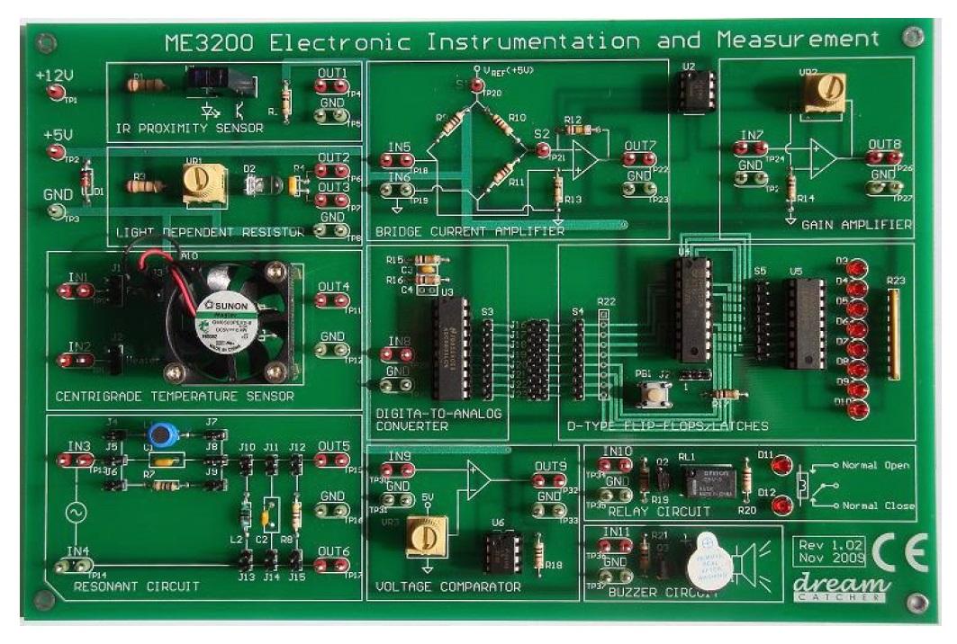 Dream Catcher ME3200. Электронные приборы и измерения