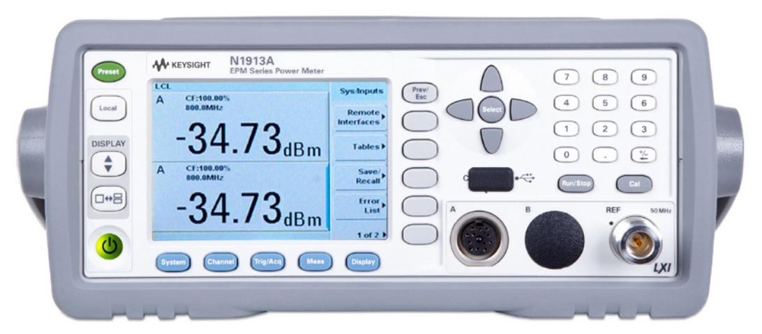 Keysight Technologies N1913A и N1914A серия EPM Измерители мощности