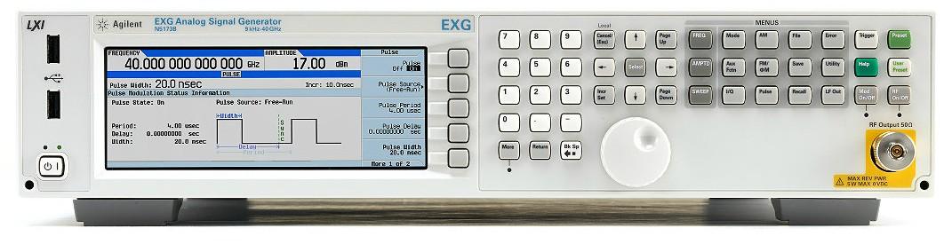 Keysight Technologies N5173B EXG аналоговый генератор СВЧ сигналов