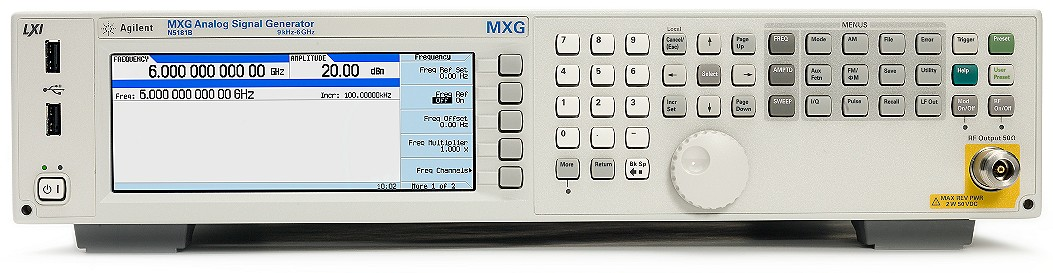 Keysight Technologies N5181B MXG Аналоговый генератор ВЧ сигналов