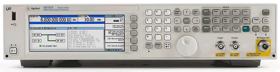 Keysight Technologies N5182A векторный генератор сигналов серии MXG, от 100 кГц до 3 или 6 ГГц