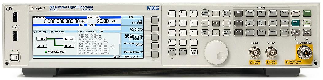 Keysight Technologies N5182B MXG Х-серия векторный генератор ВЧ сигналов