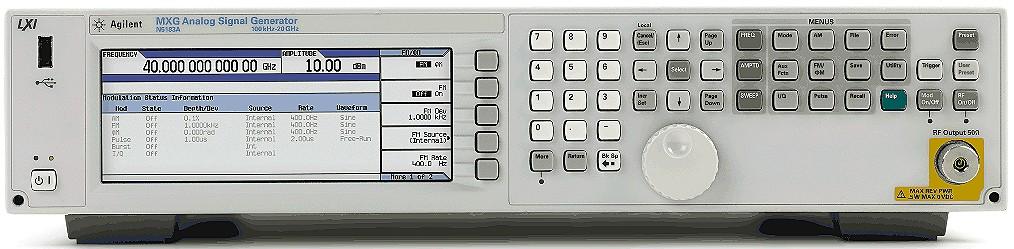 Keysight Technologies N5183A MXG аналоговый генератор CВЧ сигналов