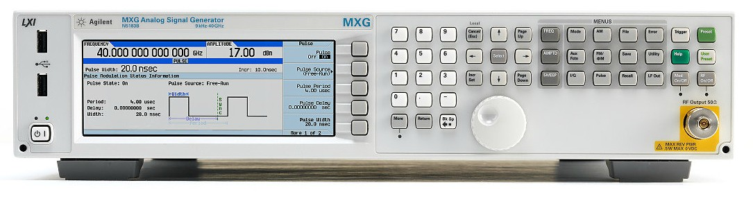 Keysight Technologies N5183B MXG Х-серия аналоговый генератор СВЧ сигналов