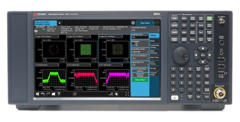 Keysight Technologies N9020B MXA Анализатор сигналов, мультитач, от 10 Гц до 26,5 ГГц