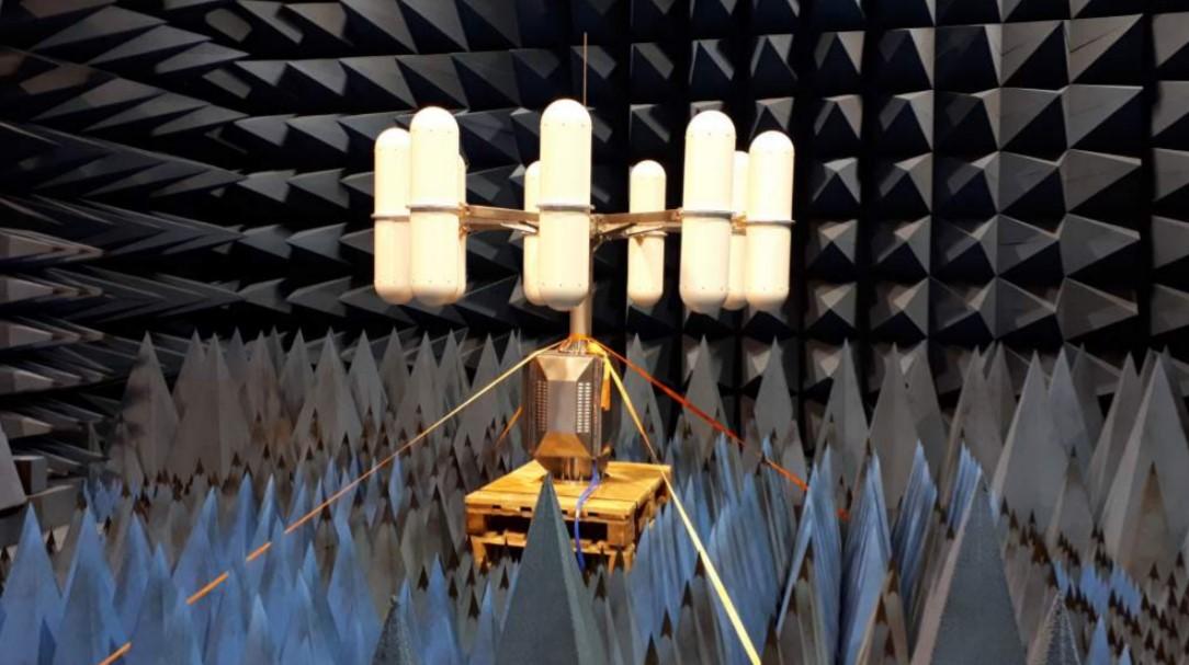 Высокоскоростной сверхширокополосный радиопеленгатор IZT R5509