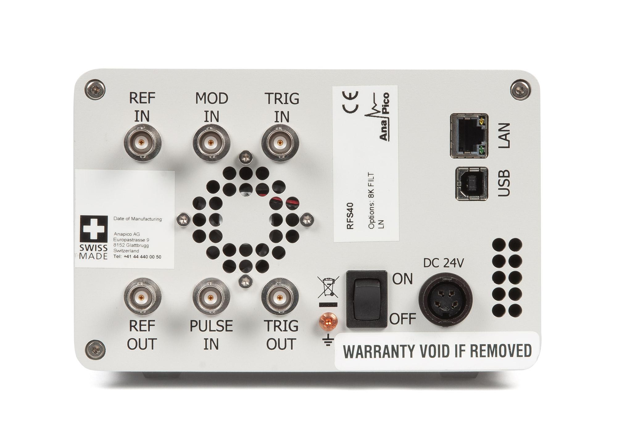 Синтезатор частот RFS40-2