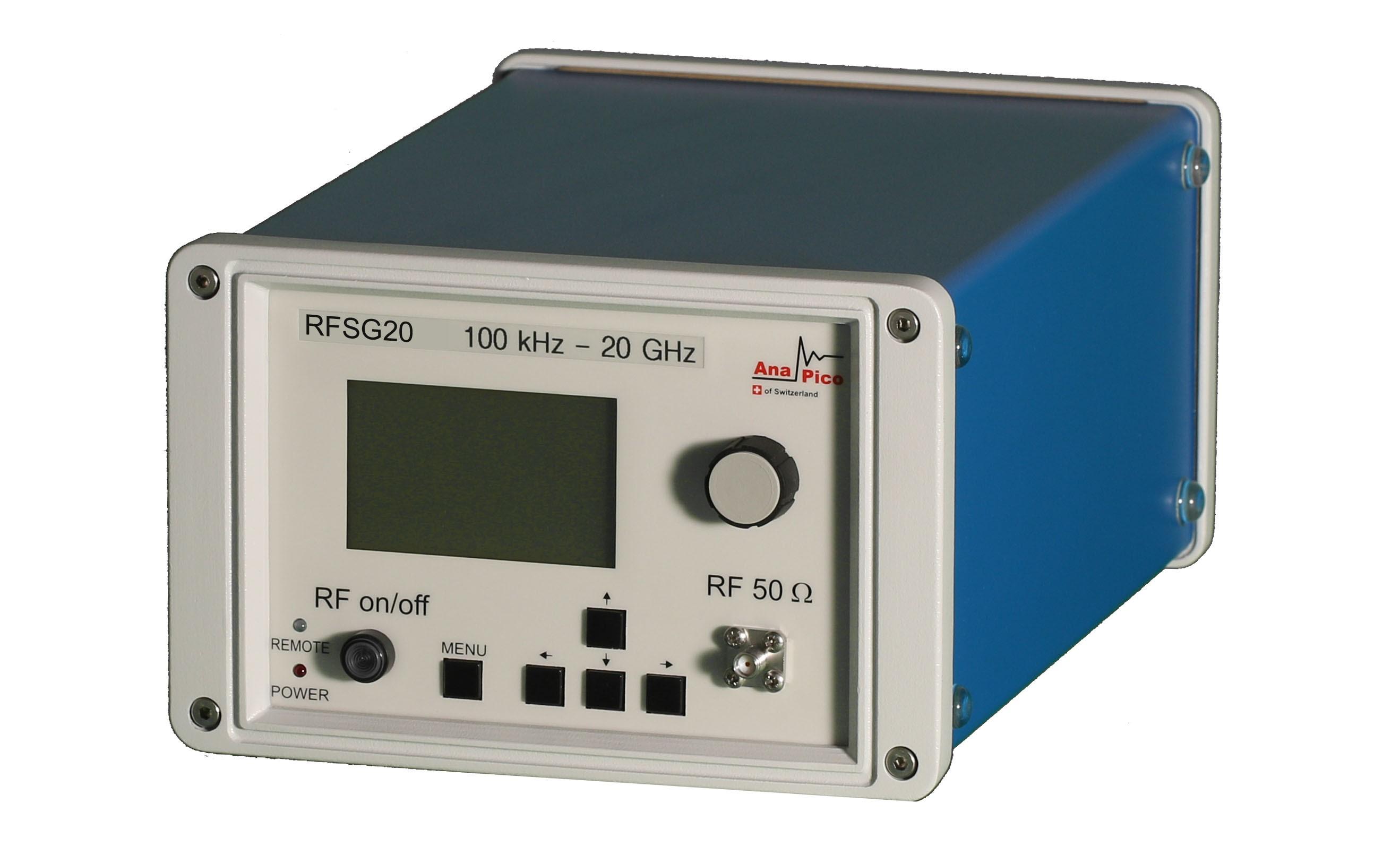 Одноканальный аналоговый генератор сигналов RFSG20