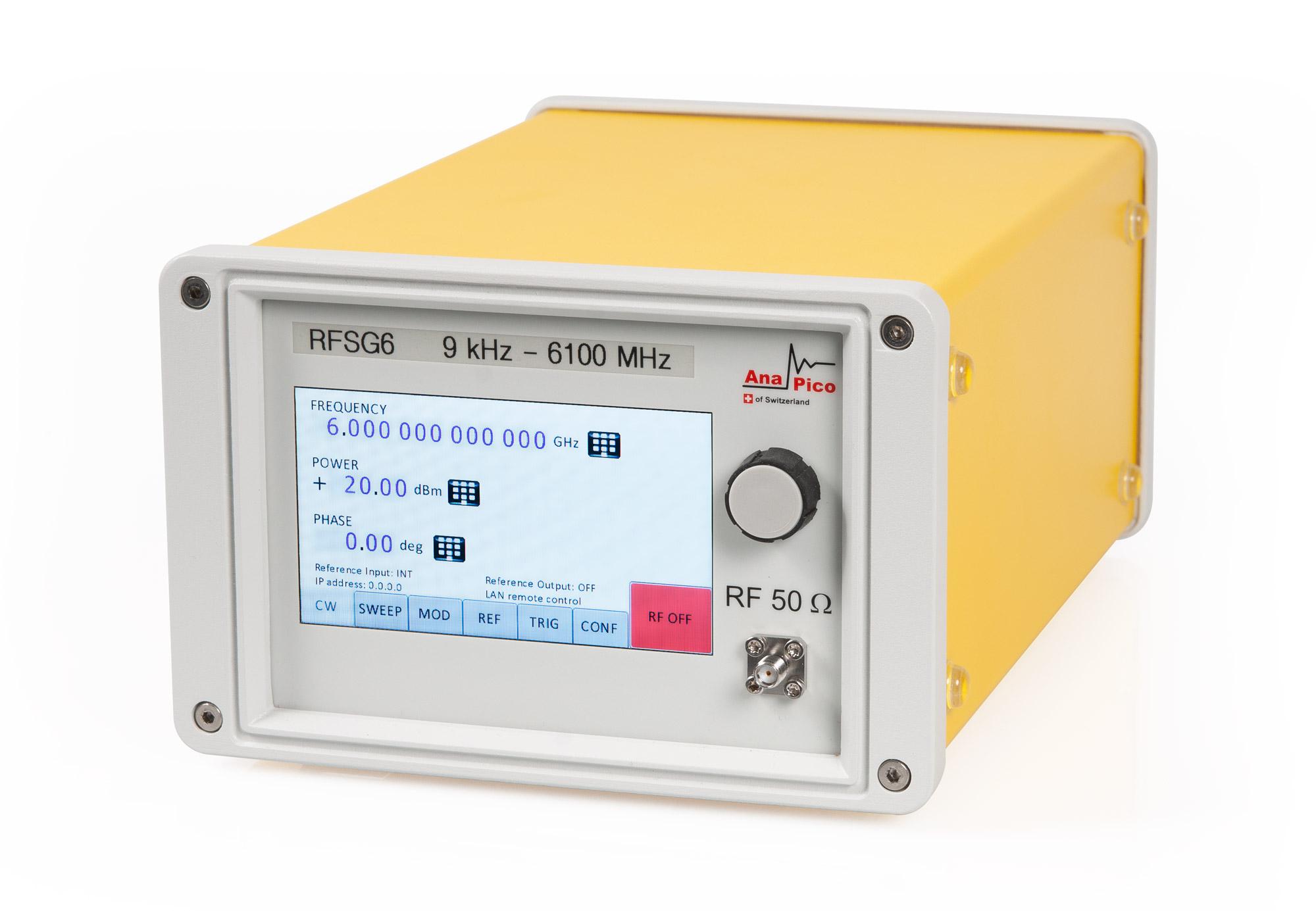 Генератор сигналов RFSG6-PE3 GPIB