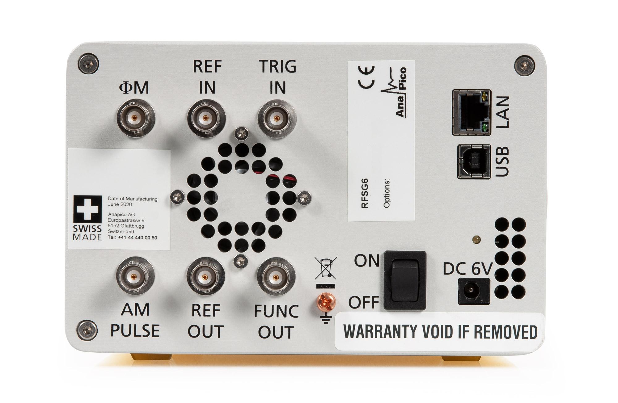 Генератор сигналов RFSG6-PE3