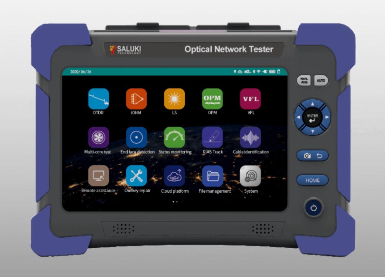 S2108 - Тестер оптических сетей (4G  WiFi  Bluetooth  GPS  iCloud)