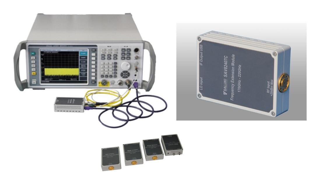 Анализаторы спектра S3503 с модулями расширения частотного диапазона серии SAV82407 до 500 ГГц