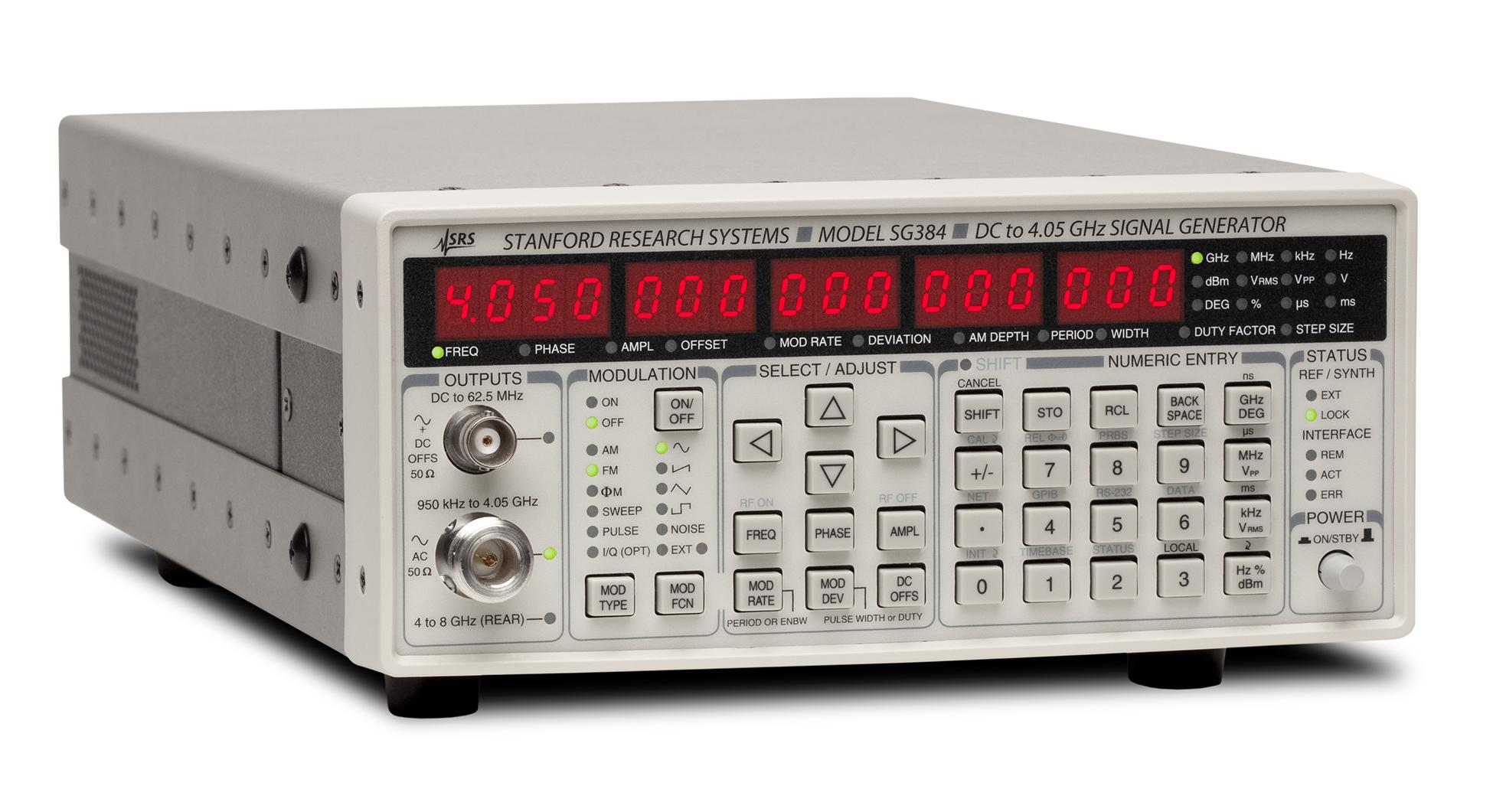 Stanford Research Systems SG384 аналоговый генератор ВЧ сигналов