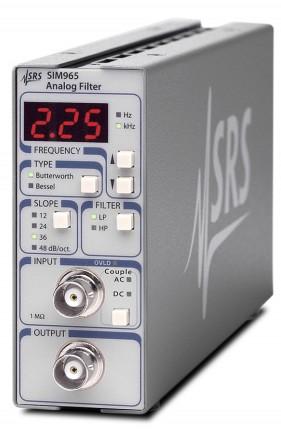 Stanford Research Systems SIM965 фильтр Бесселя и Баттерворта