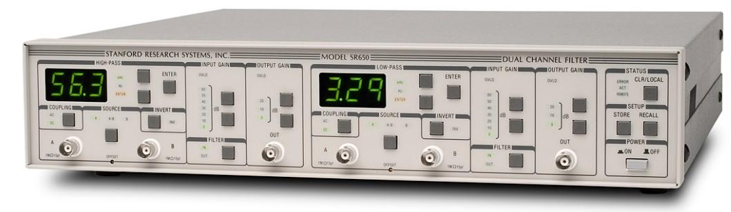 Stanford Research Systems SR650 2-канальный заграждающий фильтр