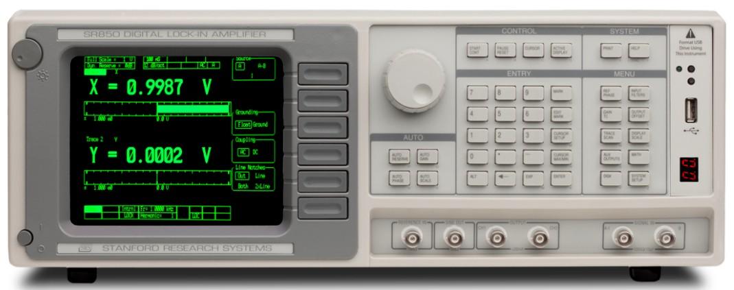 Stanford Research Systems SR850 цифровой синхронный двухфазный усилитель