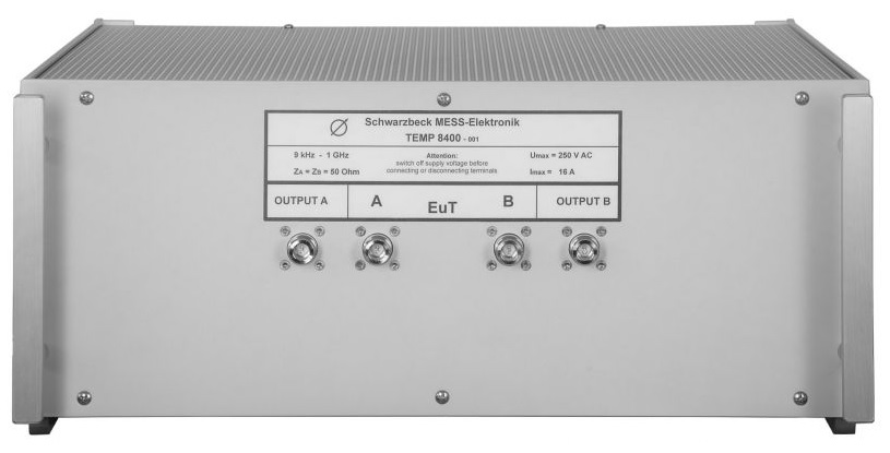Эквивалент сети TEMP 8400