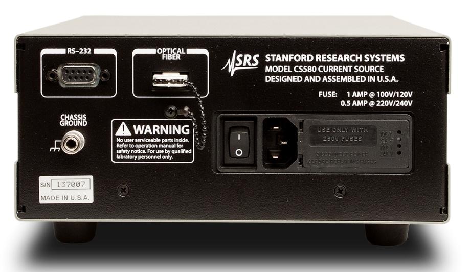 CS580 Источник тока управляемый напряжением Stanford Research Systems