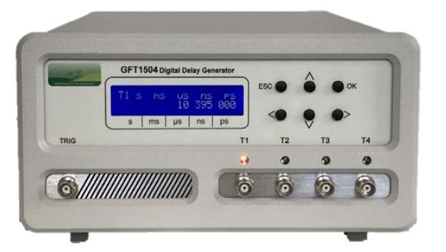 4-х канальный генератор цифровой задержки GFT1504