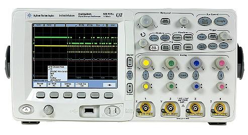 Keysight Technologies Осциллографы серии InfiniiVision 6000, с полосой до 100, 300, 500 и 1000 МГц: DSO6104A, MSO6104A, DSO6102A, MSO6102A, DSO6054A, MSO6054A, DSO6052A, MSO6052A, DSO6034A, MSO6034A, DSO6032A, MSO6032A, DSO6014A, MSO6014A, DSO6012A, MSO60