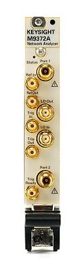 Keysight Technologies M9372A PXIe Векторный анализатор цепей, от 300 кГц до 9 ГГц