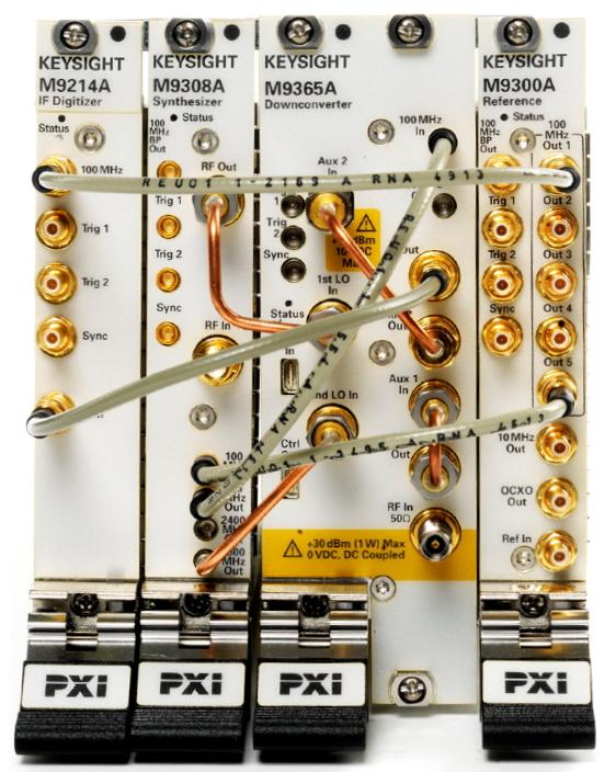 Keysight Technologies M9393A PXIe Векторный высокопроизводительный анализатор сигналов, от 9 кГц до 27 ГГц