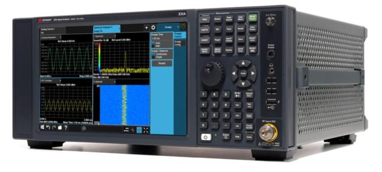 Keysight Technologies N9010B EXA Анализатор сигналов, мультитач, от 10 Гц до 44 ГГц