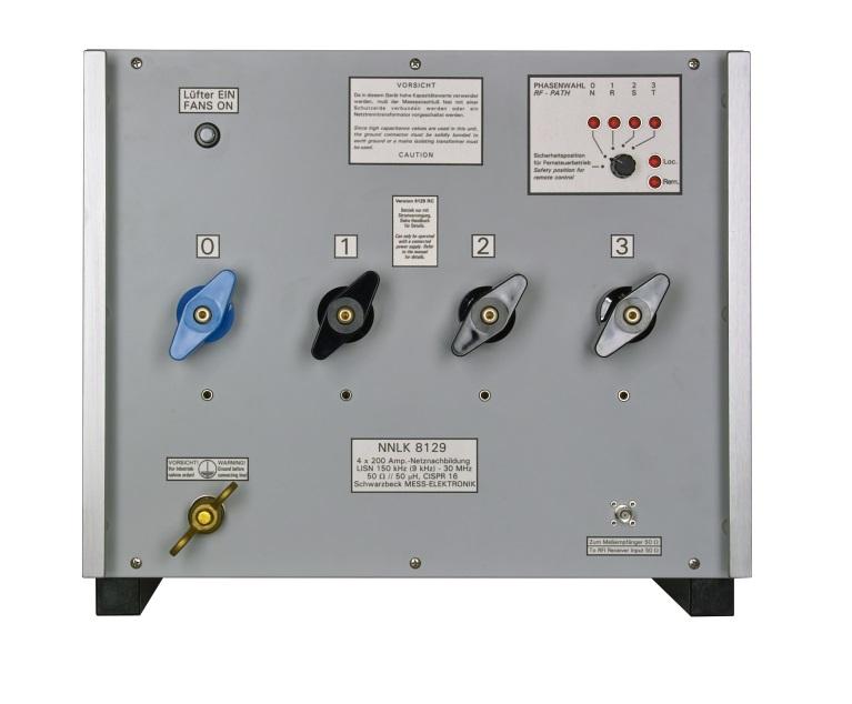 Цепь стабилизации сопротивления линии эквивалент сети NNLK 8129