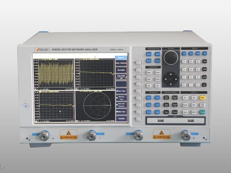 Векторный анализатор цепей S3603D (300 кГц - 20 ГГц)